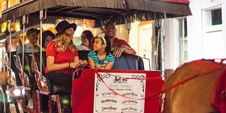 French Quarter Ghost Tour by Mule Drawn Carriage tickets