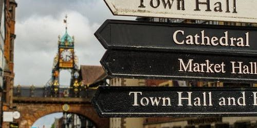 Historic Chester Day Trip from Manchester with River Cruise, Bus & Walking Tour