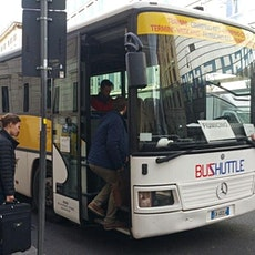 Fiumicino Airport Shuttle Bus to/from Rome biglietti