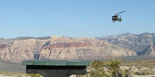 Red Rock Canyon Helicopter Flight + Picnic from Las Vegas