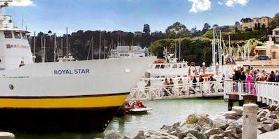 San Francisco to Tiburon: Roundtrip Ferry