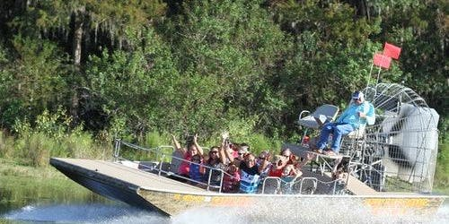 30-Minute Boggy Creek Airboat Tour At Southport Park