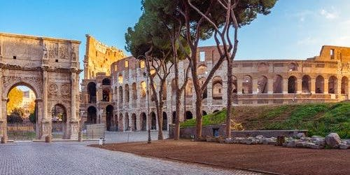 Colosseum, Roman Forum & Palatine Hill: Guided Tour Spanish, French or Russian