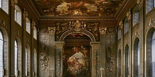 Old Royal Naval College: The Painted Hall