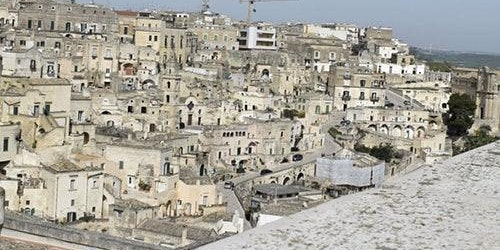 Matera Walking Tour in Italian