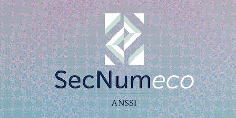 SECNUMECO #3 : Sécurité numérique et sécurité économique, de la sensibilisation à l'acculturation tickets