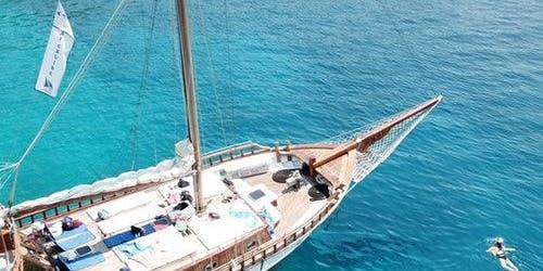 Sailboat Cruise from Athens to Agistri, Moni, and Aegina