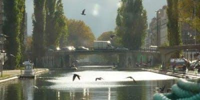 Canal+Saint-Martin+Cruise+from+Parc+de+la+Vil