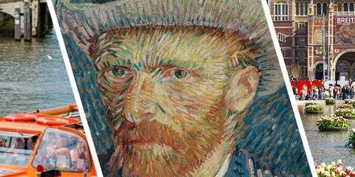 Rijksmuseum & Van Gogh Museum: Guided Tour + Canal Cruise