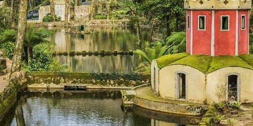 Pena Park in Sintra