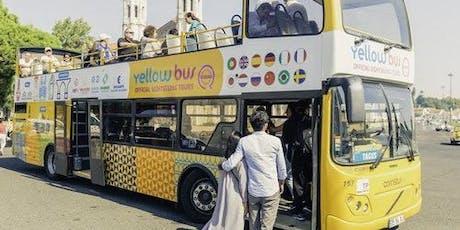 Hop-on Hop-off Bus, Boat & Tramcar Lisbon: 72-Hour All in one Tour bilhetes
