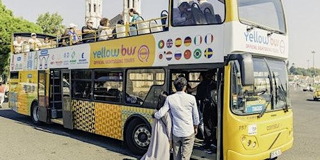 Hop-on Hop-off Bus, Boat & Tramcar Lisbon: 72-Hour All in one Tour bilhetes