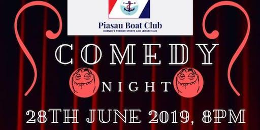 Comedy Night at Piasau Boat Club