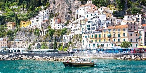 Amalfi & Positano: Boat Tour from Sorrento