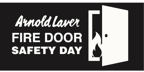 Arnold Laver Fire Door Safety Day London - CPD accredited Seminar tickets