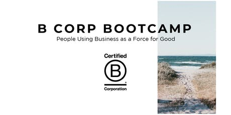Gratis Workshop: B Corp Bootcamp tickets