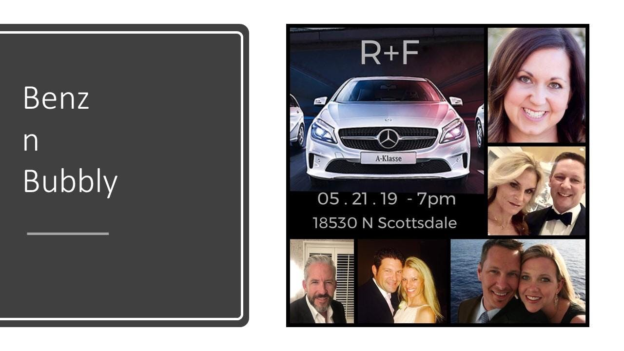 R+F   Benz n Bubbly:   Featuring Amy Cassidy RFX Circle Achiever