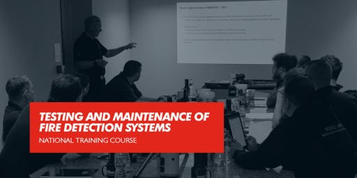 Testing and Maintenance of Fire Detection Systems (Blackburn)