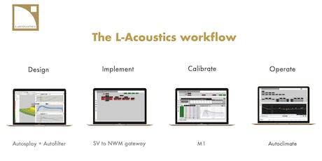 L-Acoustics workflow tickets