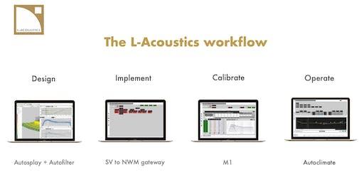 L-Acoustics workflow