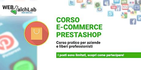 Corso Prestashop | Web AlchLAB Academy biglietti