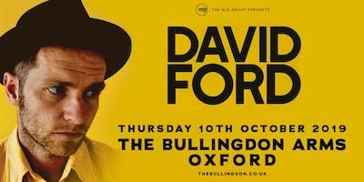 David Ford (The Bullingdon Arms, Oxford)