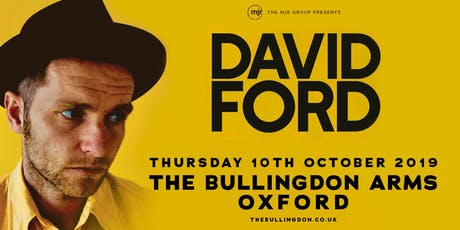 David Ford (The Bullingdon Arms, Oxford) tickets