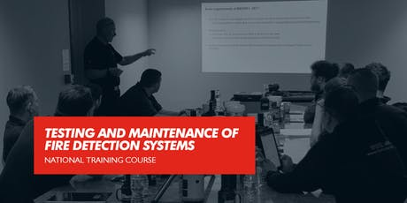 Testing and Maintenance of Fire Detection Systems (Blackburn) tickets