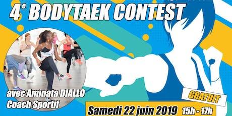 BodyTaek' Contest Tickets