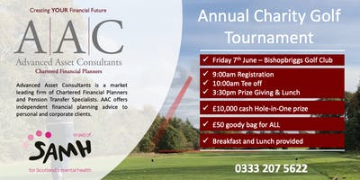 AAC Annual Charity Golf Tournament