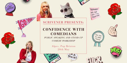 Scrivener Presents: Confidence with Comedians for Students