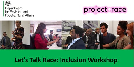 Let's talk race inclusion workshop for the SCS tickets