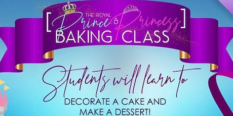 The Royal Prince & Princess Baking Class With SugaChef  tickets