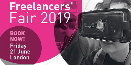 Freelancers' Fair 2019 - booking now!