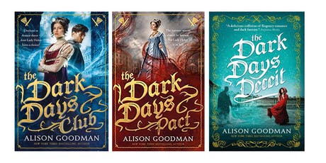 Alison Goodman at Bath Central Library tickets
