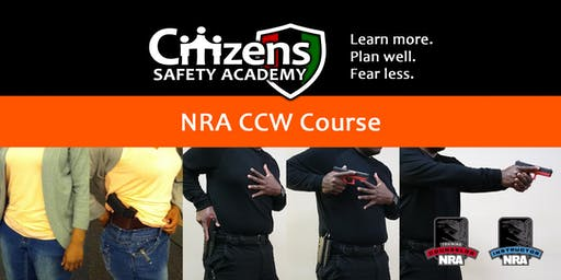 NRA Basic CCW Course