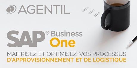 AGENTIL Academy sur SAP Business One : approvisionnement et logistique billets