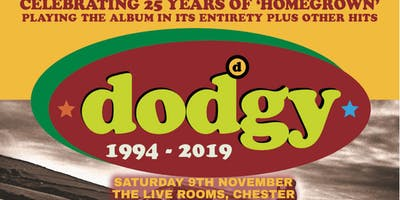 """Dodgy - \""""Homegrown\"""" 25th Anniversary Tour"""