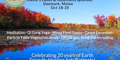 Foliage Mindfulness QiGong Yoga Eco Retreat tickets