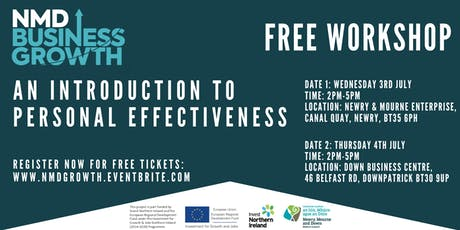 An Introduction to Personal Effectiveness - Free Workshop tickets
