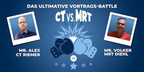 CT vs. MRT Fulda // MTRA-Fortbildung Tickets