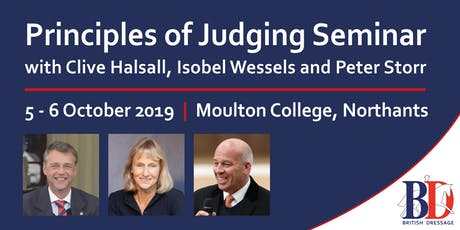 Principles of Judging Seminar tickets