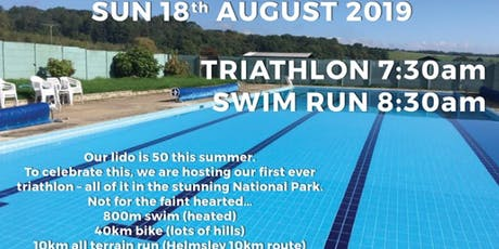 Helmsley Swim Run tickets