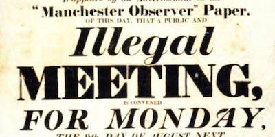 Manchester International Festival Tours - Peterloo Massacre with the expert