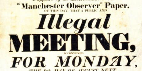 Manchester International Festival Tours: Peterloo Massacre Expert Tour tickets