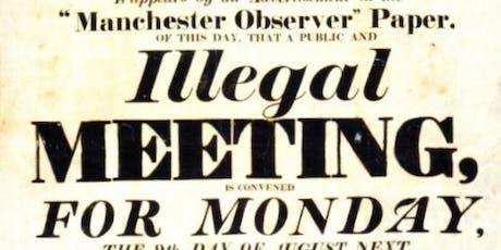 Manchester International Festival Tours: Peterloo Massacre Expert Tour tickets