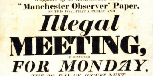 Manchester International Festival Tours: Peterloo Massacre Expert Tour