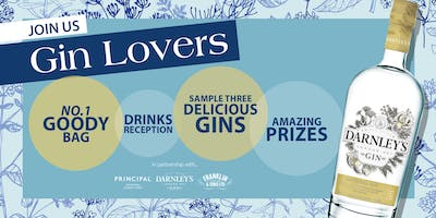 No.1's Gin Tasting With Darnley's