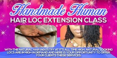Handmade Human Hair Locking Ext Class
