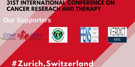 31st International Conference on Cancer Research and Therapy tickets